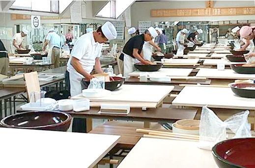 埼玉県の本格そば打ち道場 杉戸麺打愛好会 小川道場